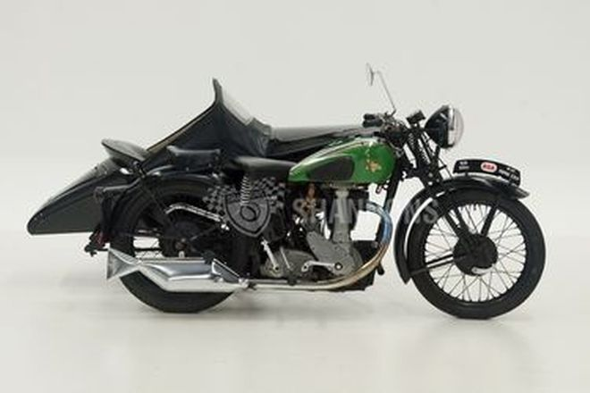 BSA M23 Empire Star 500cc OHV Motorcycle with Sidecar