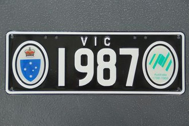 Number Plates - Victorian Bicentennial Number Plates '1987'