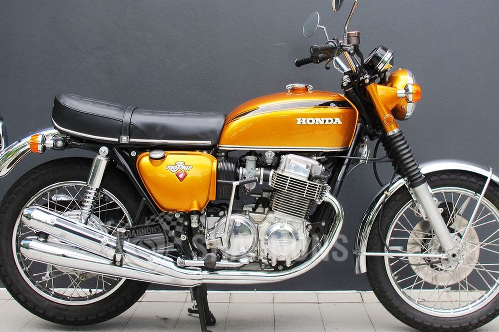 sold honda cb 750 ki motorcycle auctions lot aj shannons. Black Bedroom Furniture Sets. Home Design Ideas