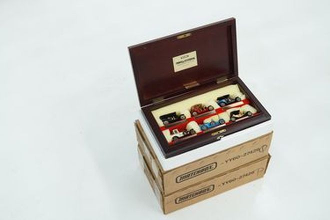 Model Cars - 2 x Boxes Matchbox Models of Yesteryear Connoisseurs Collection (YY60)