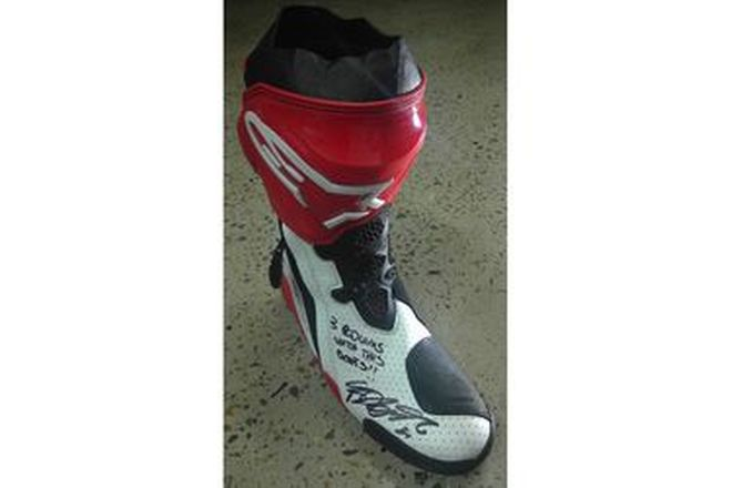 Fabio DiGiannantonio #21 Signed Boot LF
