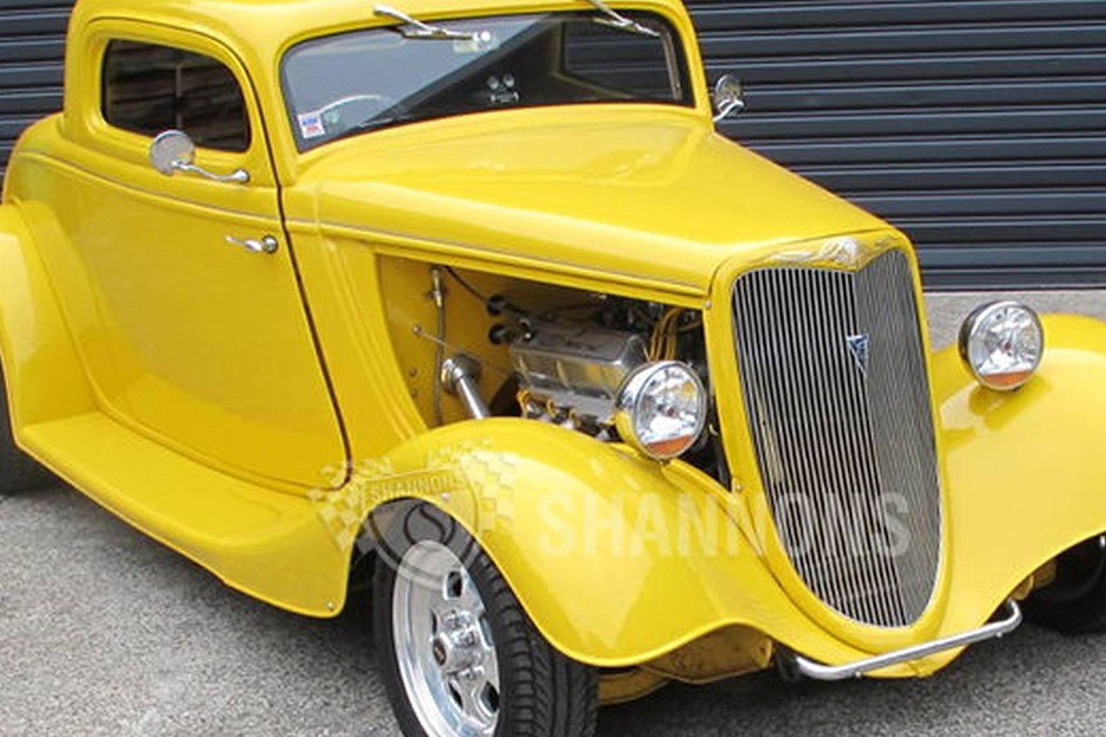 sold ford 39 hot rod 39 coupe rhd auctions lot 14 shannons. Black Bedroom Furniture Sets. Home Design Ideas