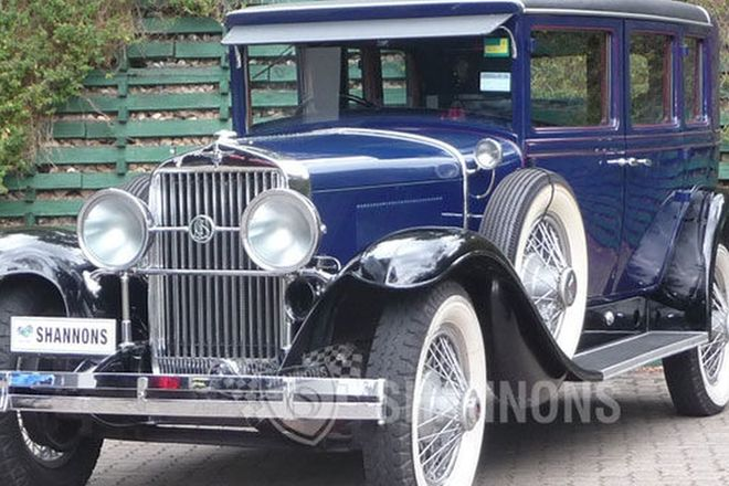 LaSalle 314-A 7-seater Limousine (RHD)