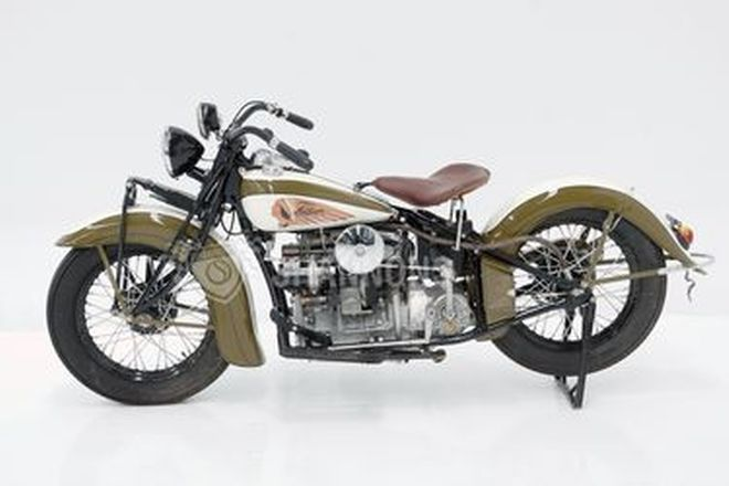 Indian Model 439 4-Cylinder Motorcycle