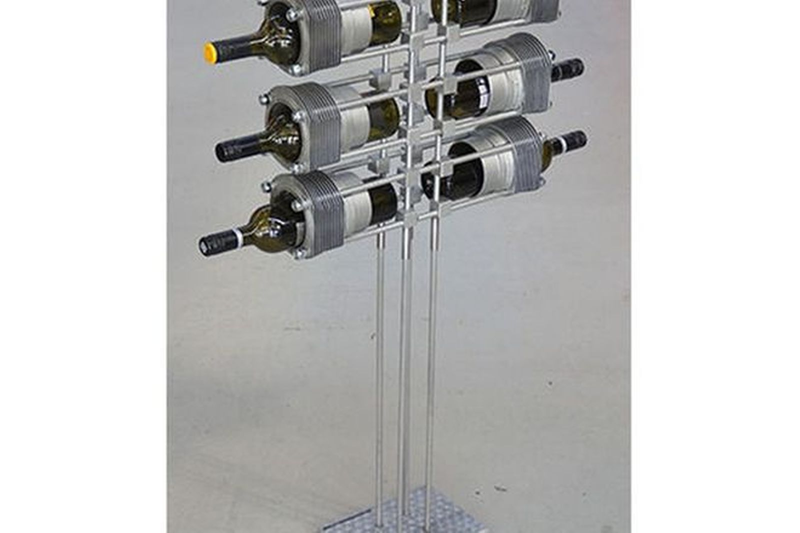 Wine Rack - Porsche Part Wine Rack 6 Bottle Upright Stand