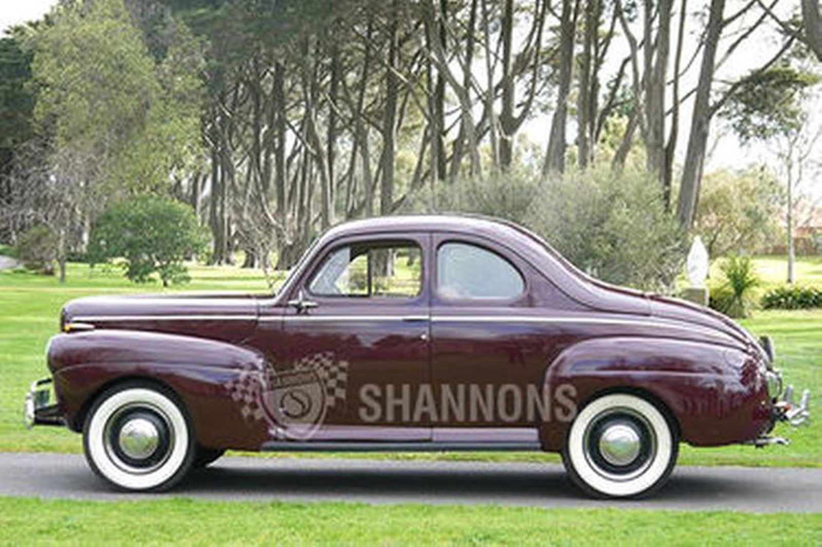 Sold Ford Super Deluxe V8 Business Coupe Lhd Auctions Lot 35
