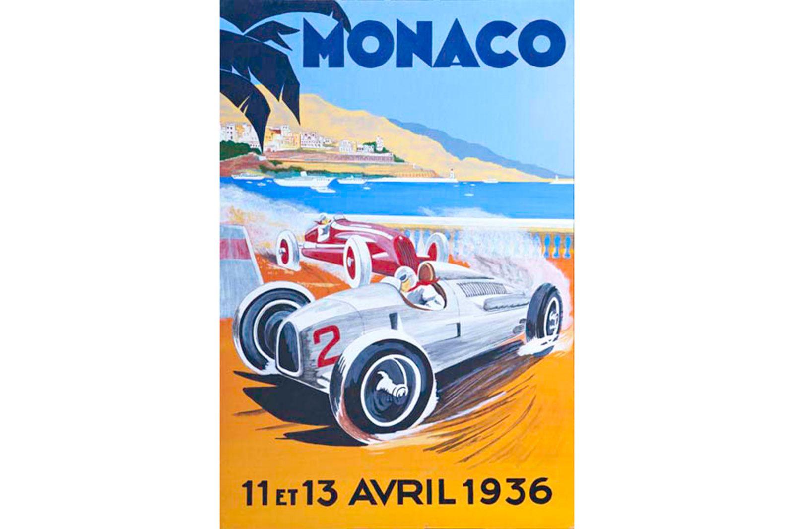 Vinyl Hanging Poster - Monoco 11et 13