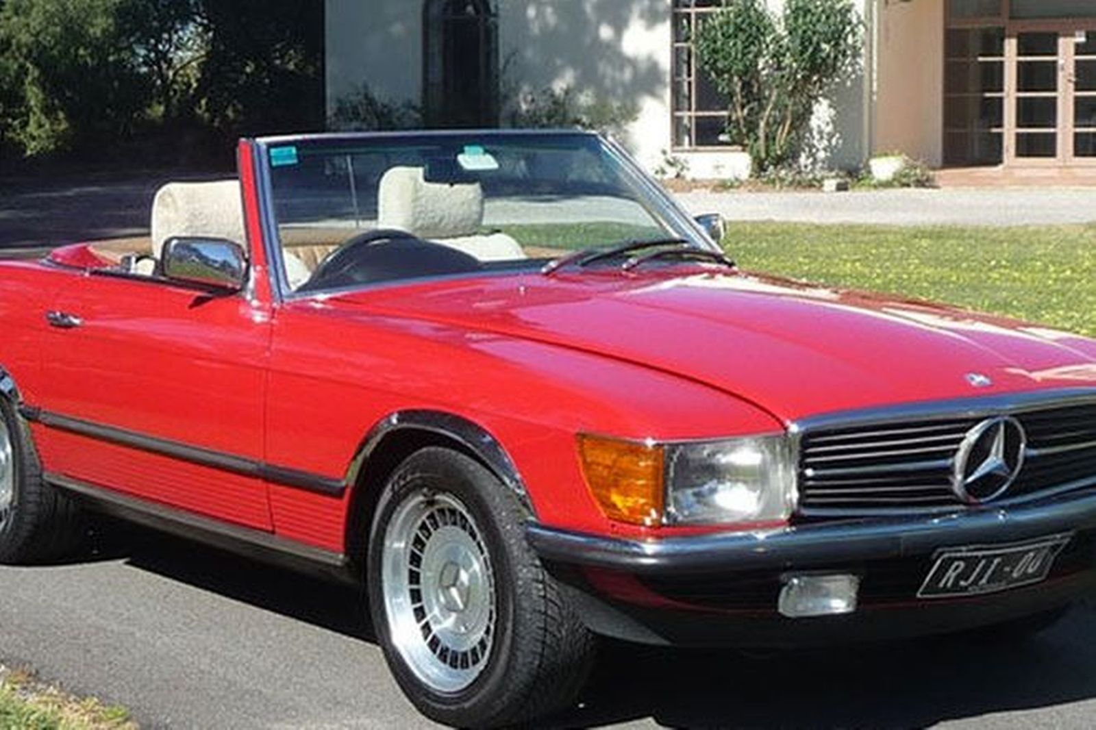 Sold mercedes benz 380sl convertible auctions lot 5 for Mercedes benz sl convertible