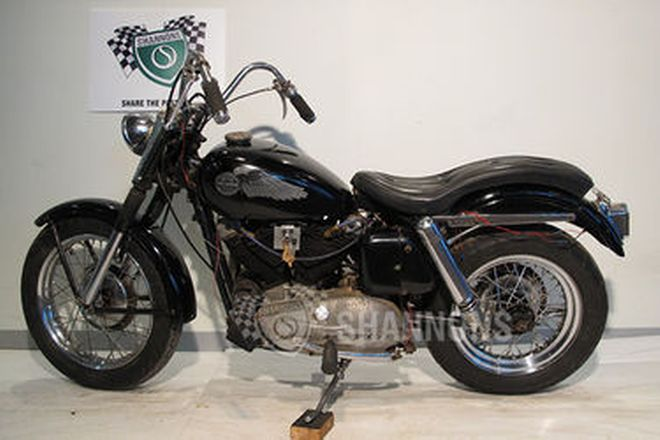Harley-Davidson Sportster 883cc Motorcycle