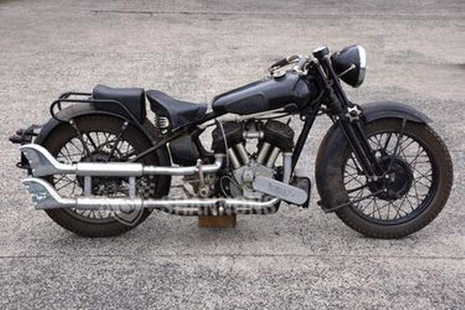 Brough Superior SS80 Deluxe 1000cc Motorcycle (Project)