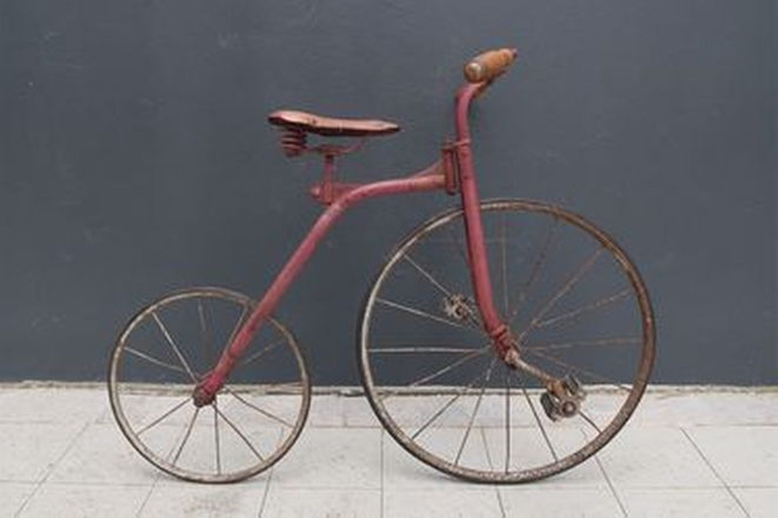 Bicycle - Circa Early 1900's Vintage Childs Two-Wheeler