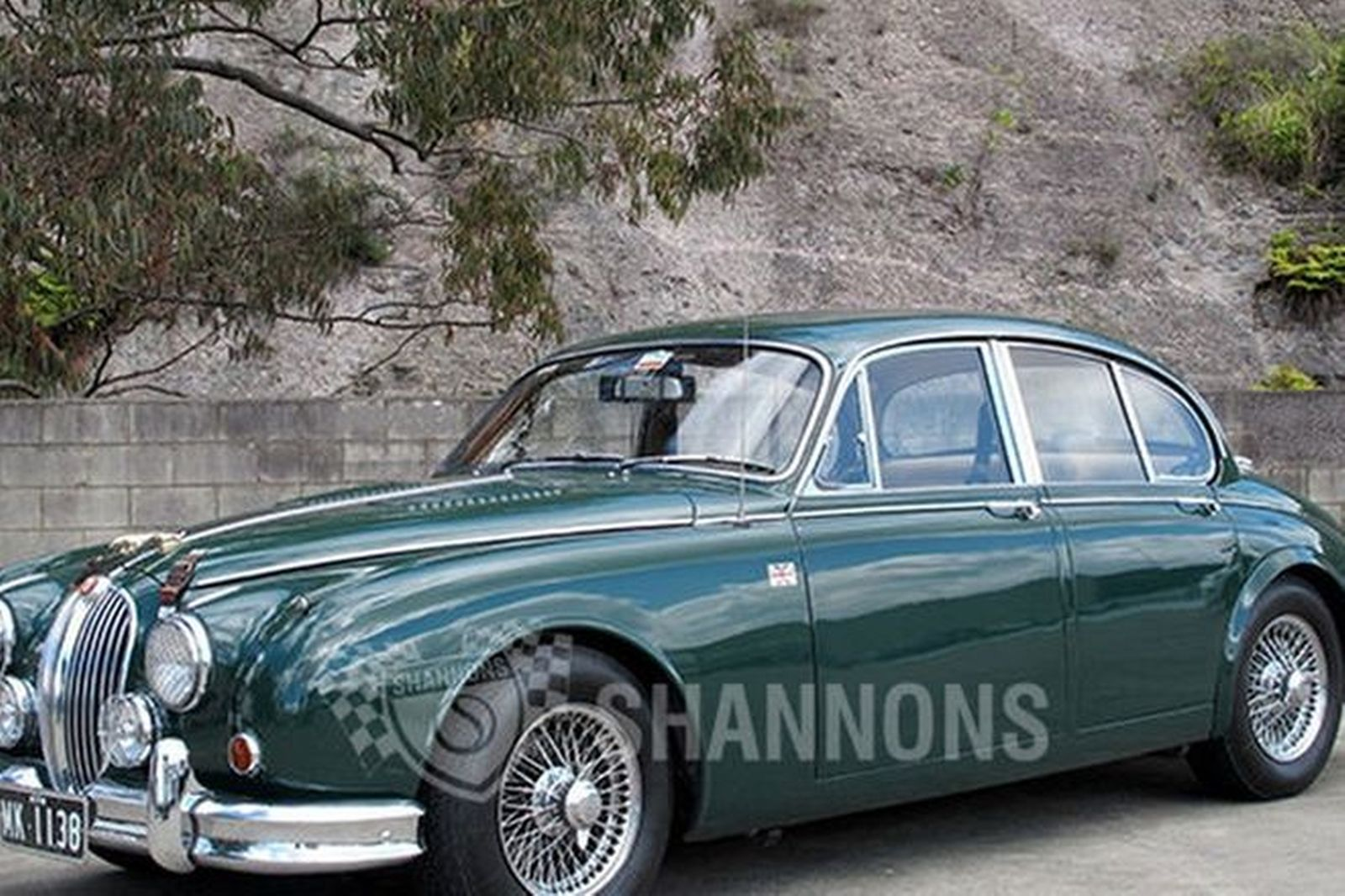 sold jaguar mkii 3 8 39 manual 39 saloon auctions lot 19 shannons. Black Bedroom Furniture Sets. Home Design Ideas