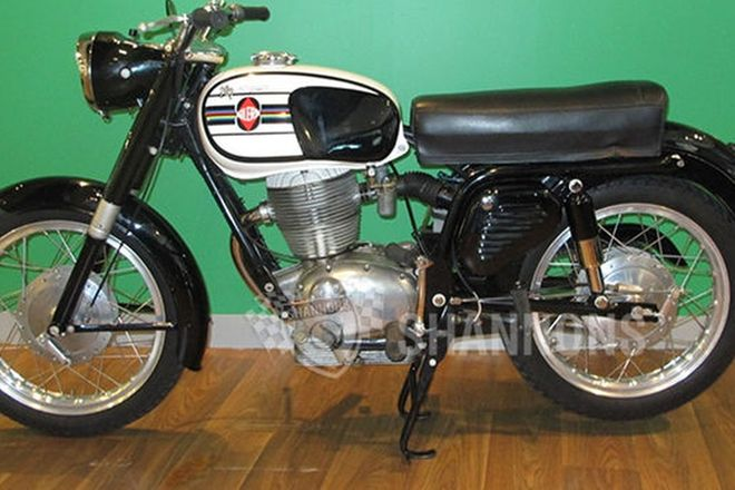 Gilera 202 Super Motorcycle