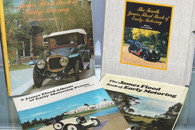 James Flood Lot  - Early Motoring Prints 1st, 3rd & 4th Edition