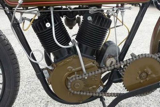 Harley-Davidson 1200cc V-Twin Board Track Racer 'Replica' Motorcycle