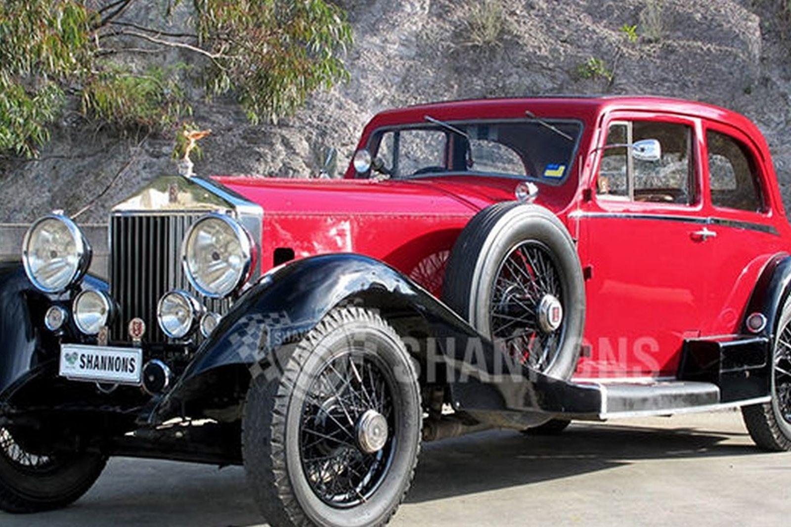 1925 Rolls Royce Phantom >> Sold Rolls Royce Phantom 1 2dr Saloon Auctions Lot 16