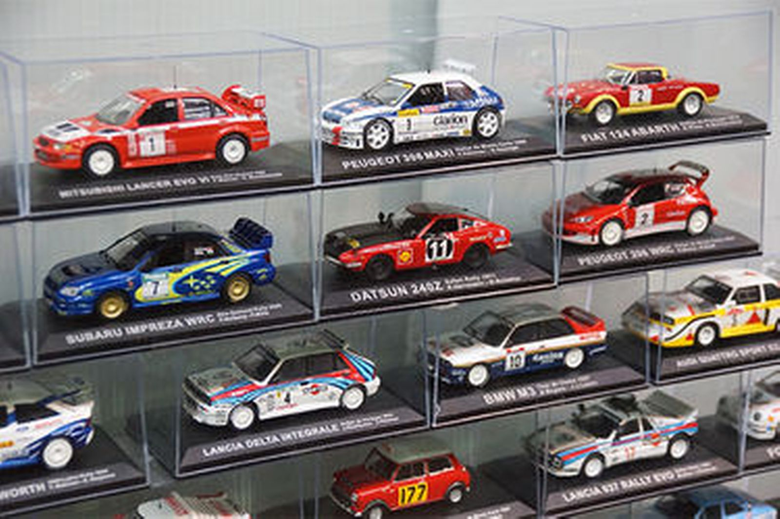 Model Cars & Magazines - 70 x Rally Cars by De Agostini (Scale 1:43)