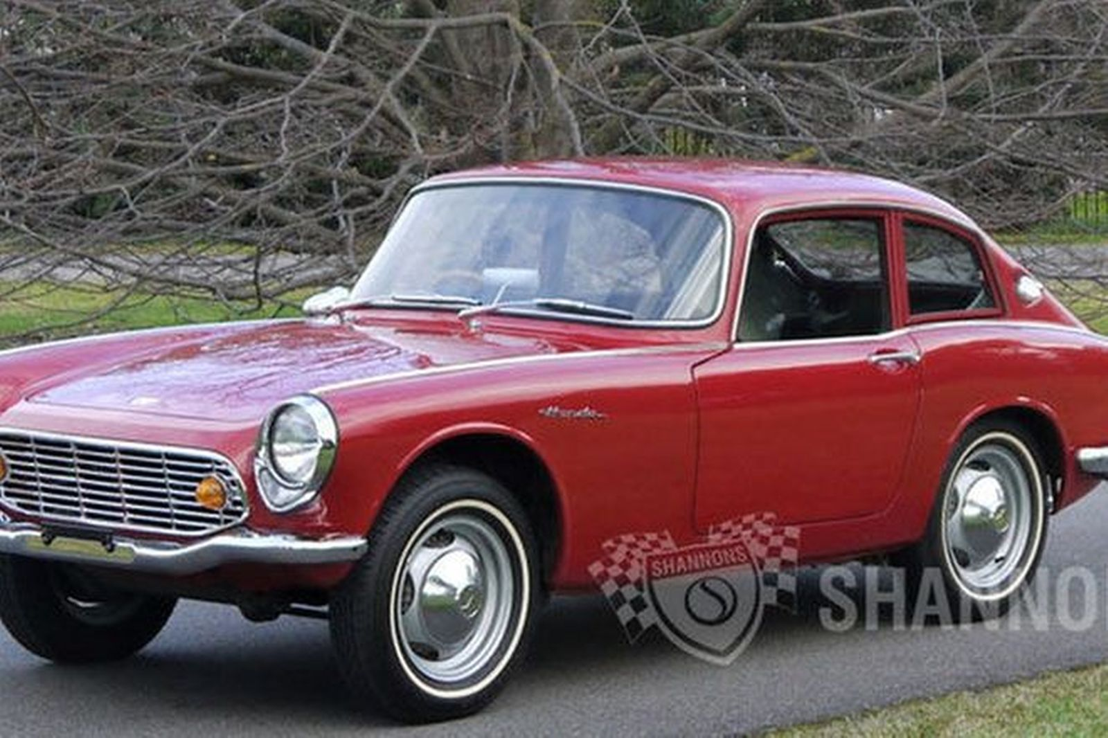 Awesome Honda S600 Coupe