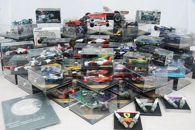 F1 Model Car Collection x 64 - Assorted Various Scales