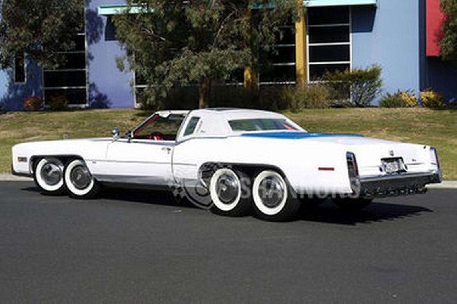 Sold Cadillac Eldorado Biarittz Converted Coupe Lhd