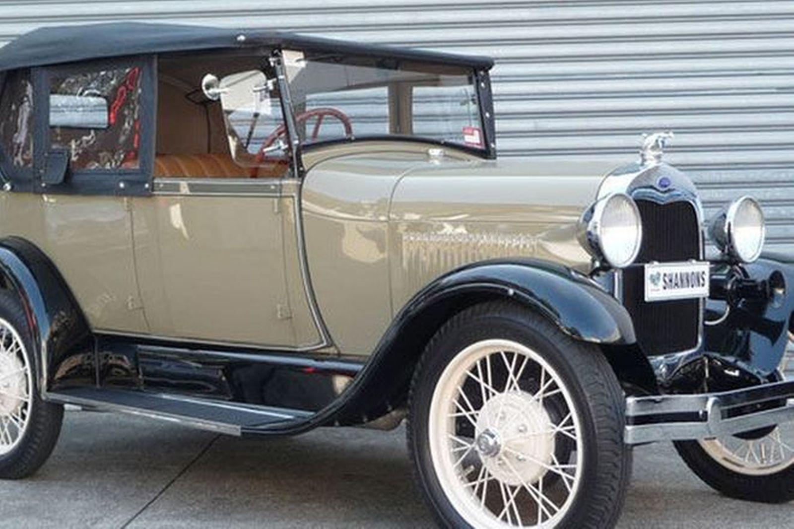 Ford model a tourer