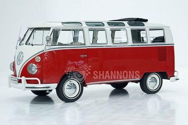 Volkswagen Kombi 21-Window 'Samba' Bus (LHD)