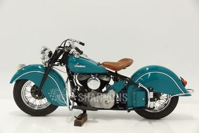 Indian Chief 1200cc Solo Motorcycle