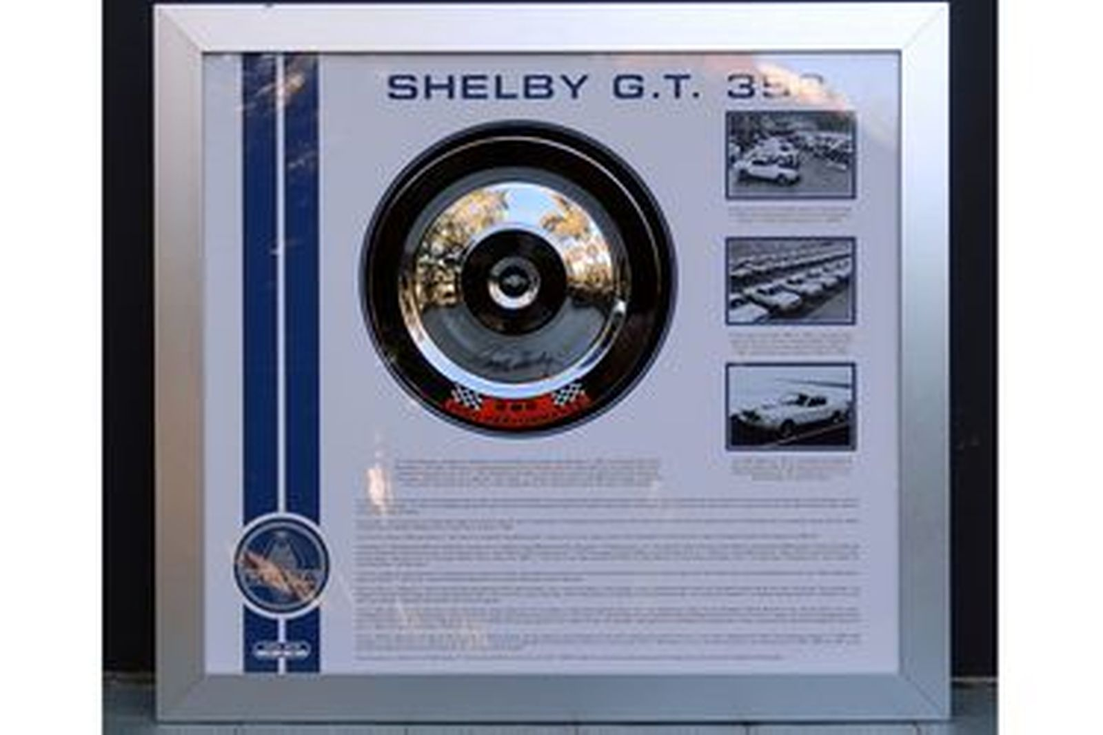 Shelby GT350 Air Filter - Signed by Carroll Shelby (18 of 25) 95 x 85cm
