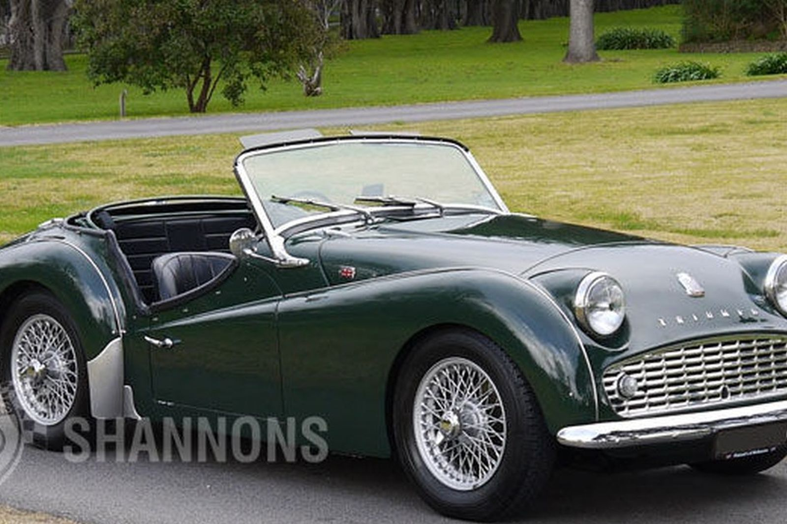 Triumph Tr3 Roadster Auctions Lot 11 Shannons