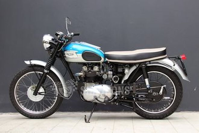 Triumph T100SS 500cc Motorcycle