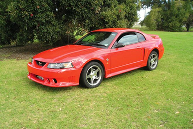 Ford Mustang GT Coupe (RHD)