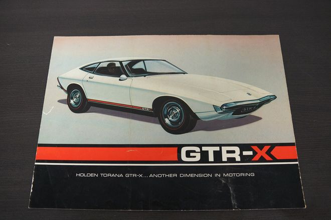 Holden GTR - X Sales Brochure
