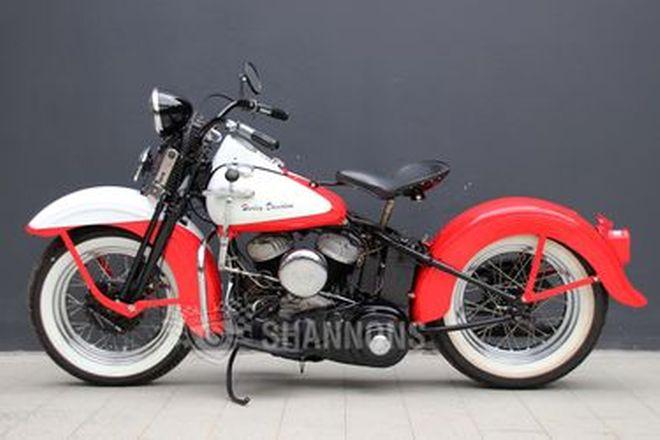 Harley-Davidson WLA 750cc Motorcycle
