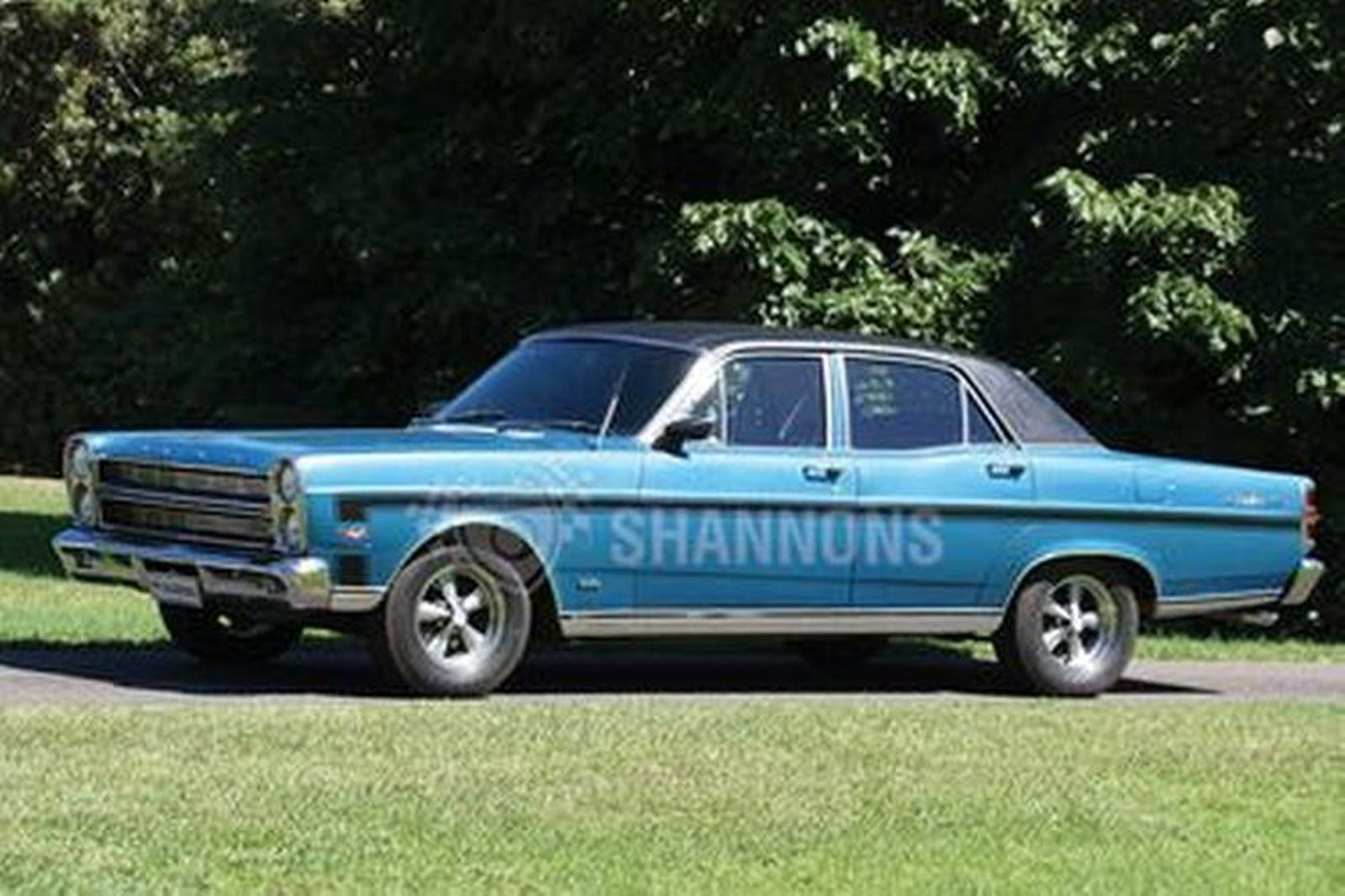 Sold: Ford ZC Fairlane T-Code 351 V8 'Manual' Sedan ...