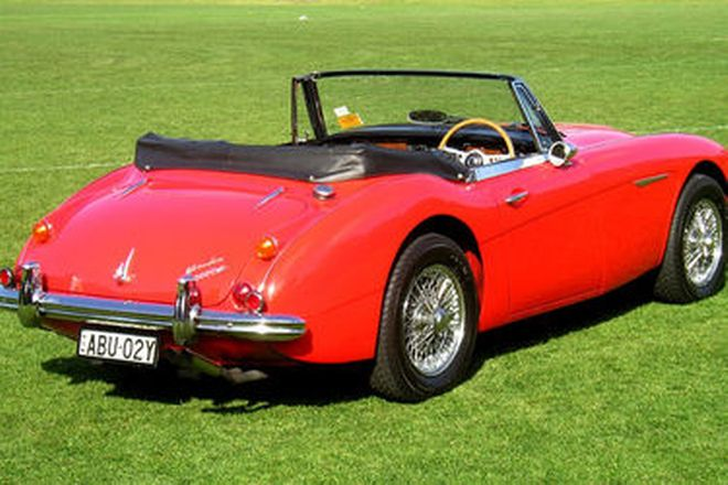 Austin Healey 3000 MK111 BJ8 Convertible