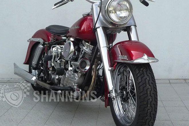 Harley-Davidson FLH Duo Glide Motorcycle