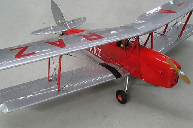 Model Plane - Tiger Moth (approx 4')