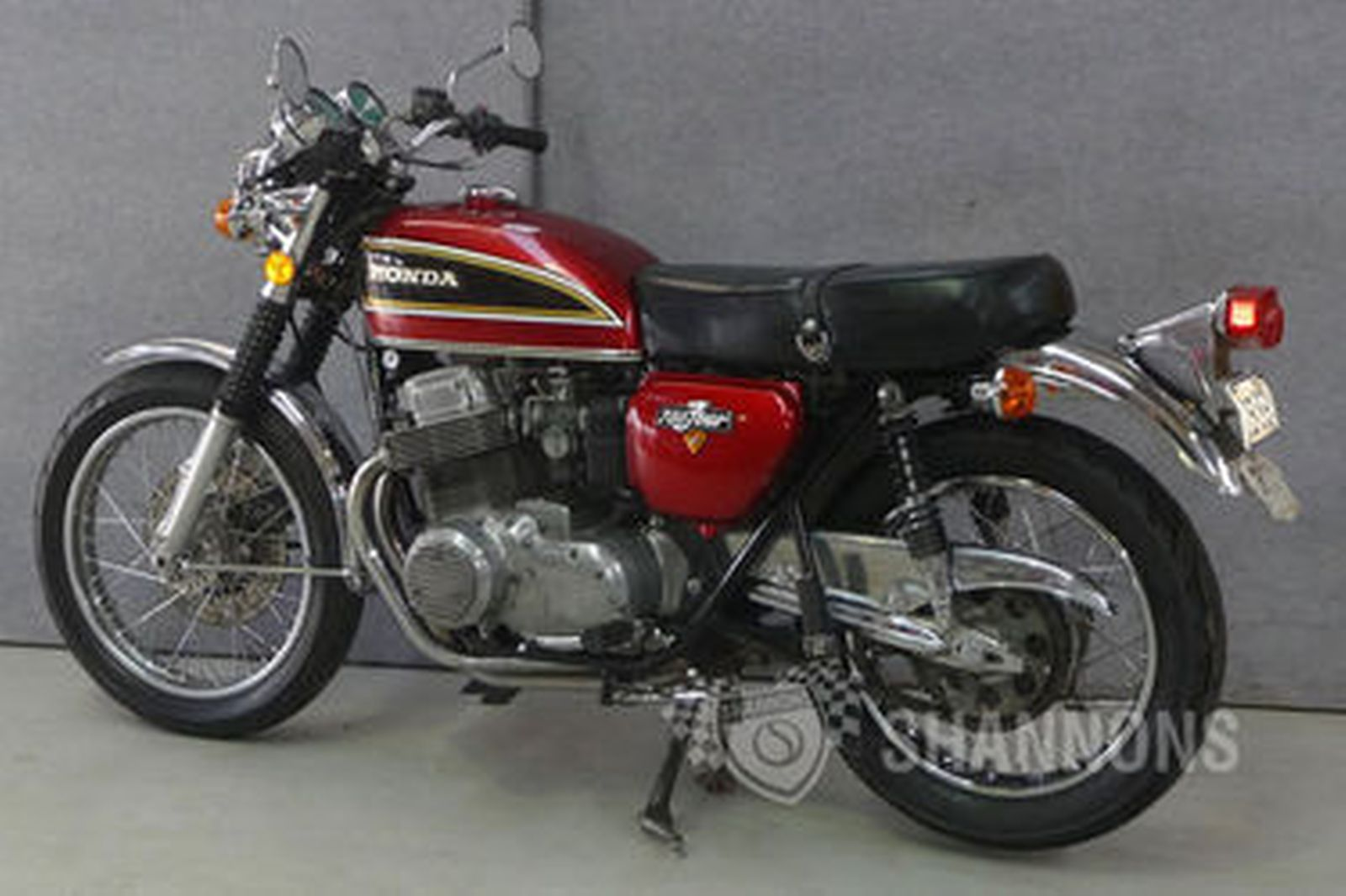 sold honda cb750 4 k2 motorcycle auctions lot 22 shannons. Black Bedroom Furniture Sets. Home Design Ideas