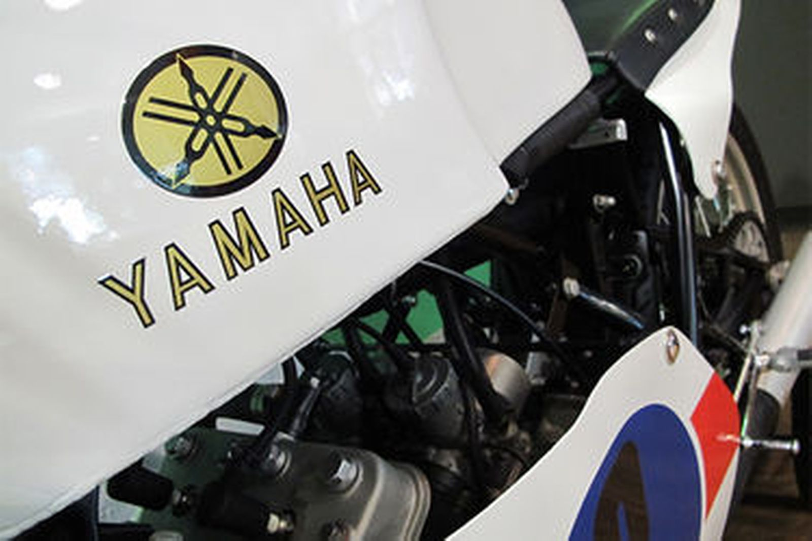 Yamaha TZ350E Production Racer