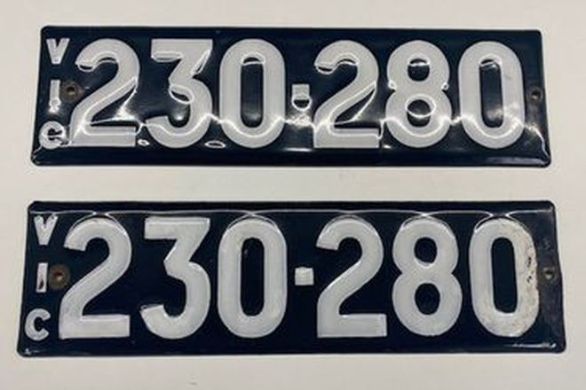 Victorian Heritage Plates '230.280'