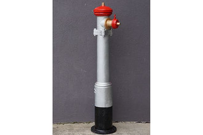 c1920's Fire Hydrant by Orton & Burns, Melbourne (146cm tall)