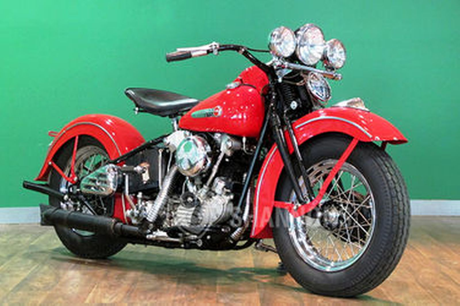 Harley Davidson: Sold: Harley Davidson 'Knucklehead' Motorcycle Auctions