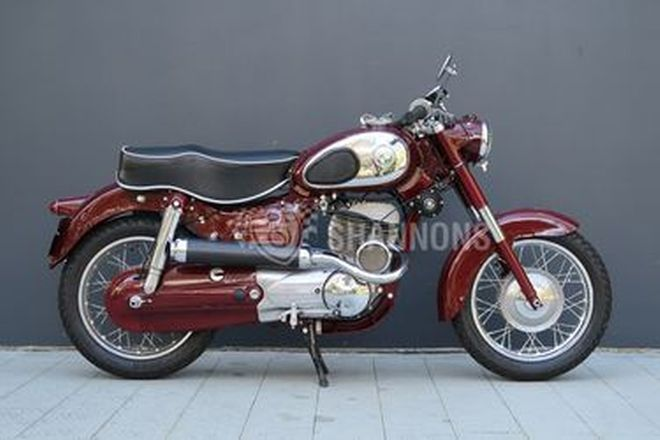 Puch SGS 250cc 'Super Sports' Motorcycle