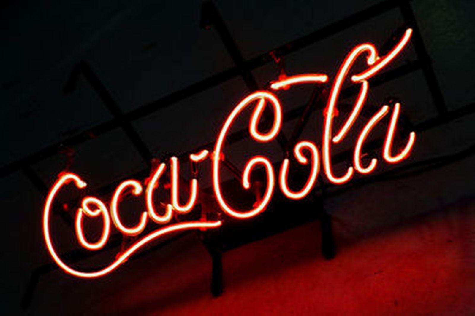 3 x Coca-Cola Eskys, 1 X Neon Light & Enamel Sign