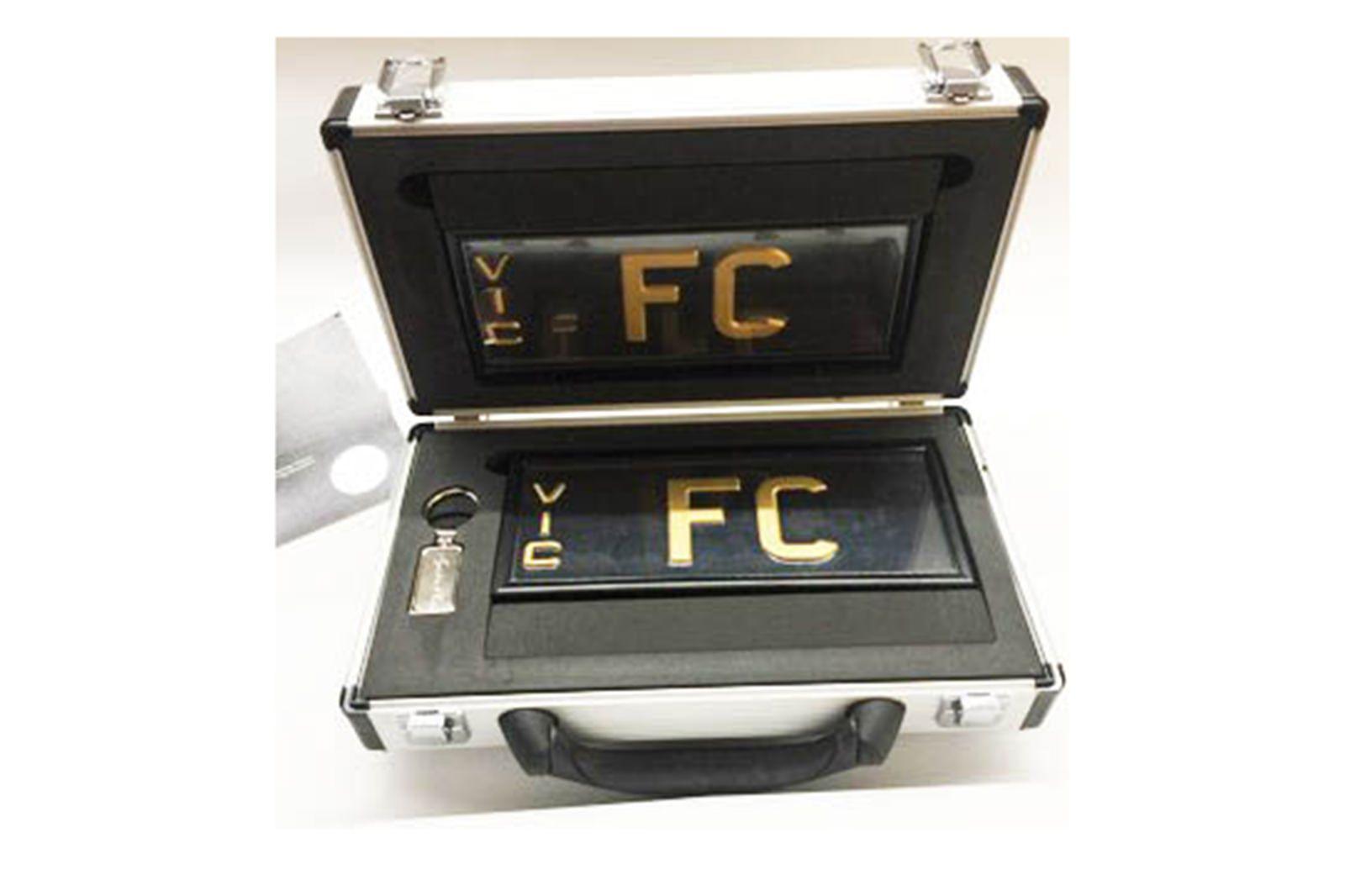 Victorian Signature Plate - FC