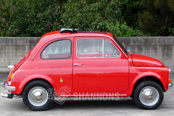 Fiat 500F 'Tribute' Coupe