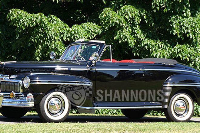 Ford Mercury Convertible (RHD)
