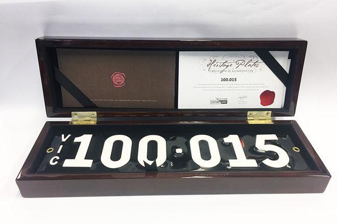 Victorian Heritage Plate 100.015