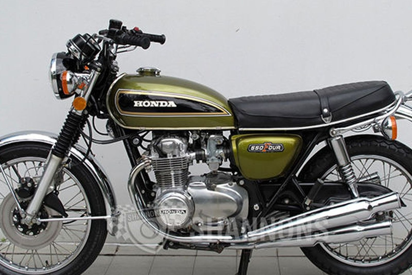 Sold Honda Cb550 4 Motorcycle Auctions Lot Ac Shannons
