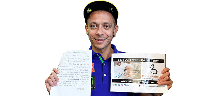 A Cure for Freyja - MotoGP Fundraising Online Auction